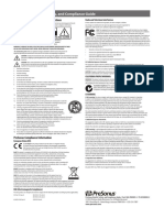 PresonusHealthSafetyandComplianceGuide2016 Multi