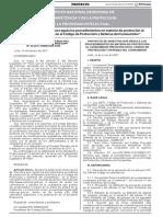 Indecopi - Proyectos de Directivas Que Regulan Los Procedimientos en Materia de Protección Al Consumidor