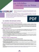 Cotutelle doctorale entre la France &le  Maroc