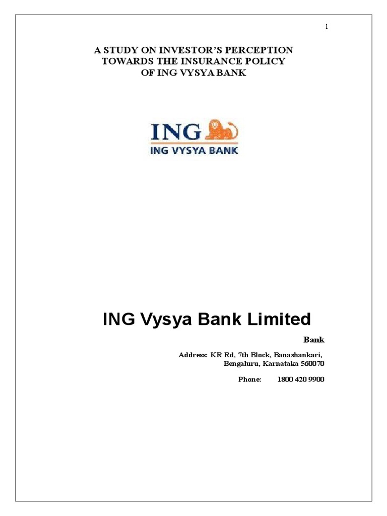 Life-Insurance ING-Vysya.doc | Financial Plan | Insurance