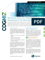 Nine Novel Tactics for Software Product Managment in the New Digital Age