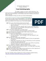Food Autobiography