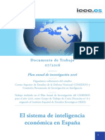 Sistema Inteligencia Economica Espana