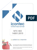 NTC ISO 14001-2015