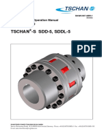 Installation Operating Instructions Couplings TSCHAN S SDD-5 SDDL-5 En