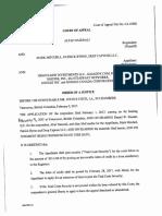 Feb 9 Court Order, Nazerali vs Byrne
