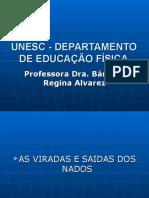 Slide Das Saidas e Viradas Dos Nados