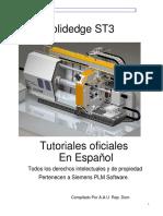 SolidEdge ST3, Tutoriales Oficiales en Español.pdf