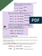 Reglas Ingles