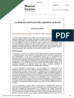 Ruy Mauro Marini - 1966 - La dialetica del desarrollo capitalista en Brasil.pdf