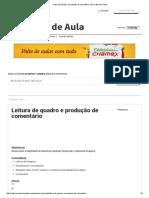 Leitura de Quadro e Produção de Comentário _modernismo Br
