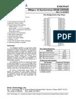 Etron tech IC Datasheet