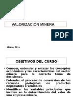 Tema 1 2016 1 Valor de Una Empresa Minera (1)