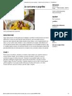 Cavolfiore Speziato Alla Curcuma e Paprika - Ricette Imma DiDomenico - D - Repubblica