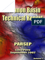Marañón Basin Technical Report, 2002