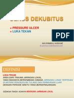 Ulkus Dekubitus - Pressure Ulcer - Kuliah 12062010