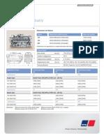 MTU Datasheet s4000px3 Constant Speed