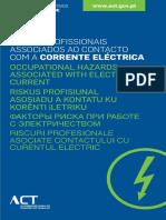 02 - Riscos Profissionais Associados Ao Contacto Com a Corrente Eléctrica