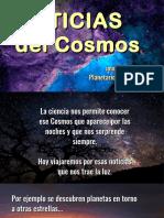 Noticias del Cosmos