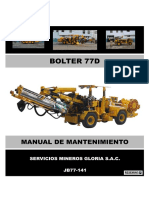 Manual Mantenimiento Bolter 77d - Jb77-141