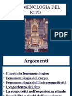 Fenonenologia Rito Appunti 2014 2015