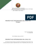 Integración Latinoamericana (MODULO VIII)