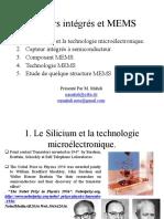 Capteurs Intégrés Et MEMS