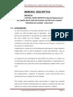Memoria Descriptiva-CCONTA LUCANAS