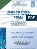 Problemas Correas Cadenas Cables