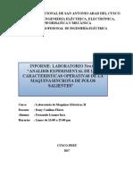 Informe Labo 7 Maquinas Electricas Informe Final