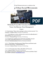 1436845 Rethinking Urban Movements Program