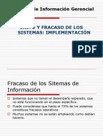 Sistemas de Información Gerencial - Implementacion