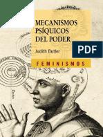 Butler Judith - Mecanismos Psiquicos Del Poder