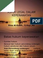 Aspek Legal Dalam Keperawatan
