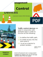 3.1 Traffic Control Devices