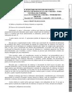 Decisão Dispensando Acordo Assinado Pelas Partes (Justiça No Bairro)