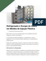 Refrigeração e Escape de Gases em Moldes de Injeção Plástica.doc