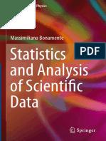 Statistics Analysis Scientific Data