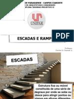 Desenho II - Escadas Retas e Rampas