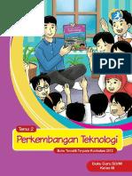Kelas 03 SD Tematik 2 Perkembangan Teknologi Guru