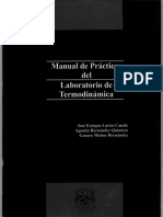 Manual de Practicas Del Laboratorio de Termodinamica