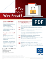 Wire Fraud Protection - Consumer Tips