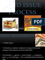Bond Issue Process