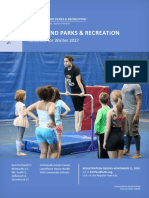 South and East Portland Parks and Recreation Activities for Winter 2017