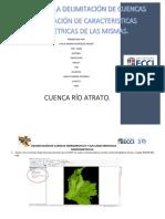 Manual Delimitación de Cuencas- Parcial Hidrología