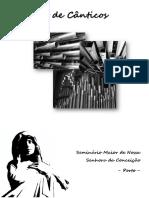 Capa de Cânticos SMP 2014 Versão Reduzida
