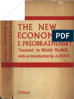 Preobrazhensky. e. the New Economics