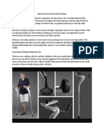 Exercises You Can Do on Crutches