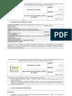 Syllabus Estructura Administrativa y Legal Del Tema Ambiental en El País