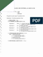 Program de Control Al Greutatii